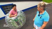 Im Test: Spaßige Ganz-Körper-Luftpolster