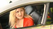 Das Blondchen und der Polizist