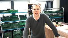 Mario Kotaska erklärt das Besondere am Gericht von Florian
