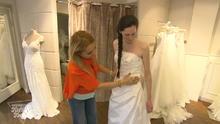 Schüchterne Braut mit kleinem Budget
