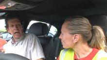 Fahrer abgelenkt durch Hundegebell