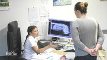 Katharina Rempel diagnostiziert eine Blasenentzündung