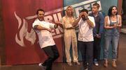 Steffen Henssler holt sich den Impro-Gang